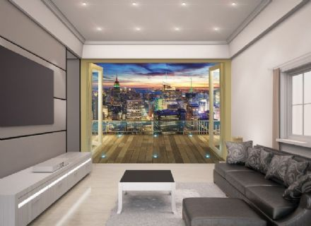 New York City Skyline Wallpaper Mural
